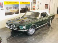 1967 Ford Mustang 289 C Code Power Top/PS automatic Highland Green-VIDEO