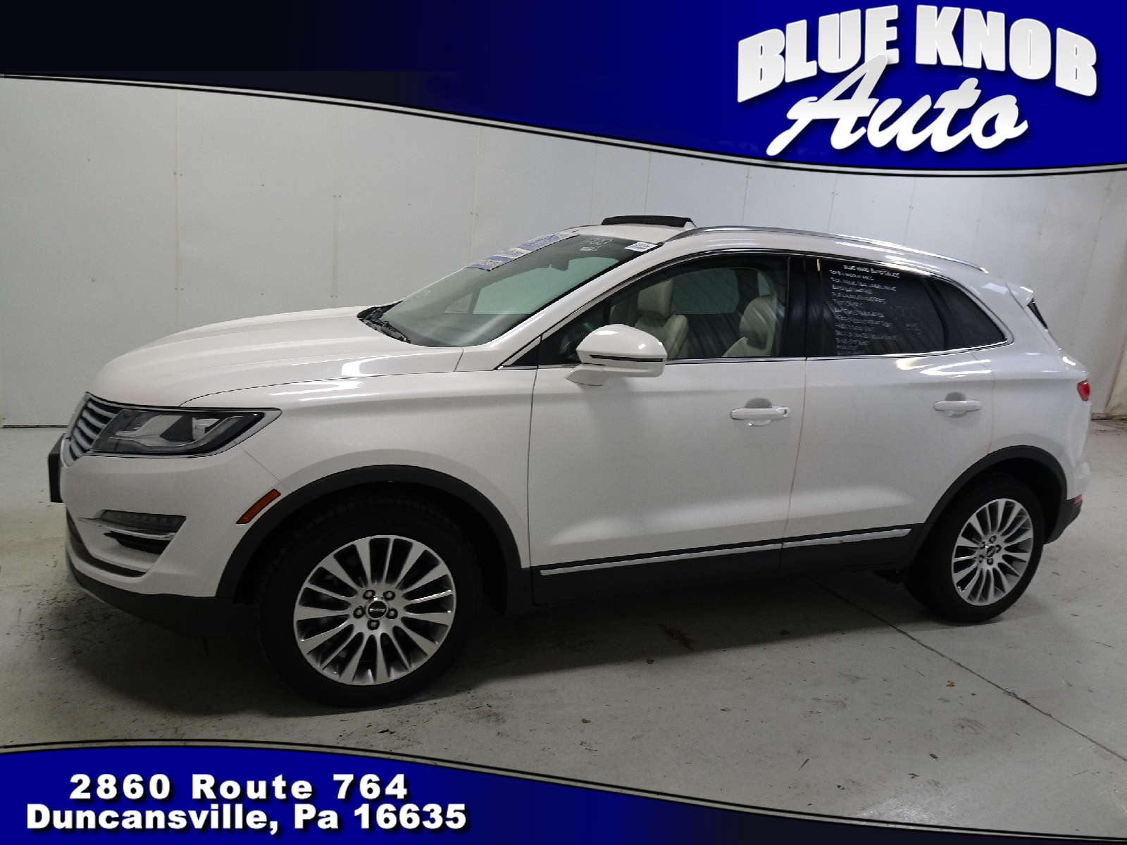 Photo 2018 Lincoln MKC Reserve SUV in Duncansville  Serving Altoona, Ebensburg, Huntingdon, and Hollidaysburg PA