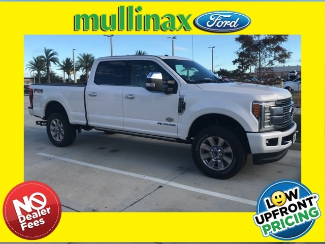 Photo Used 2017 Ford F-250 Platinum W Ultimate Package, 20 Wheels, MAX TOW Truck Crew Cab V-8 cyl in Kissimmee, FL