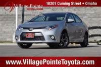 2016 Toyota Corolla LE Plus Sedan FWD for sale in Omaha