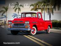1959 Chevrolet Pickup CLEARANCE-RESTORED-Apache 31-FRAME OFF-FLORIDA STEP SIDE-