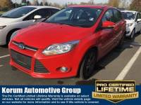 Used 2013 Ford Focus SE Hatchback 4-Cylinder DGI DOHC for Sale in Puyallup near Tacoma