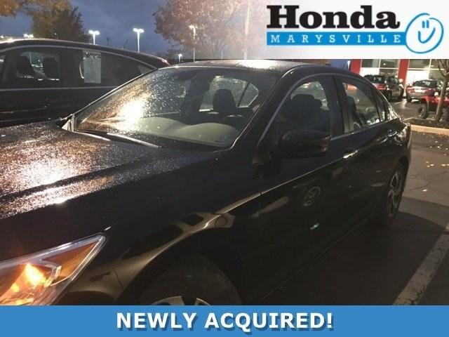 Photo Certified 2017 Honda Accord LX Sedan