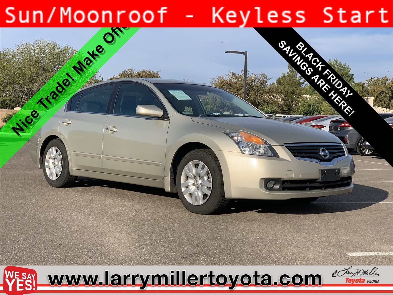 Photo Used 2009 Nissan Altima For Sale  Peoria AZ  Call 602-910-4763 on Stock P31742A