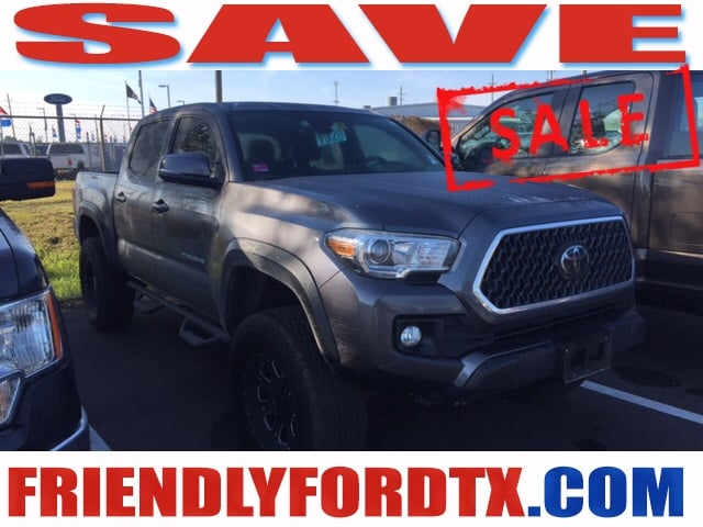 Photo Used 2018 Toyota Tacoma Pro Comp Lift  Wheels Truck V6 for Sale in Crosby near Houston