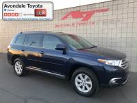 Pre-Owned 2012 Toyota Highlander SUV Front-wheel Drive in Avondale, AZ