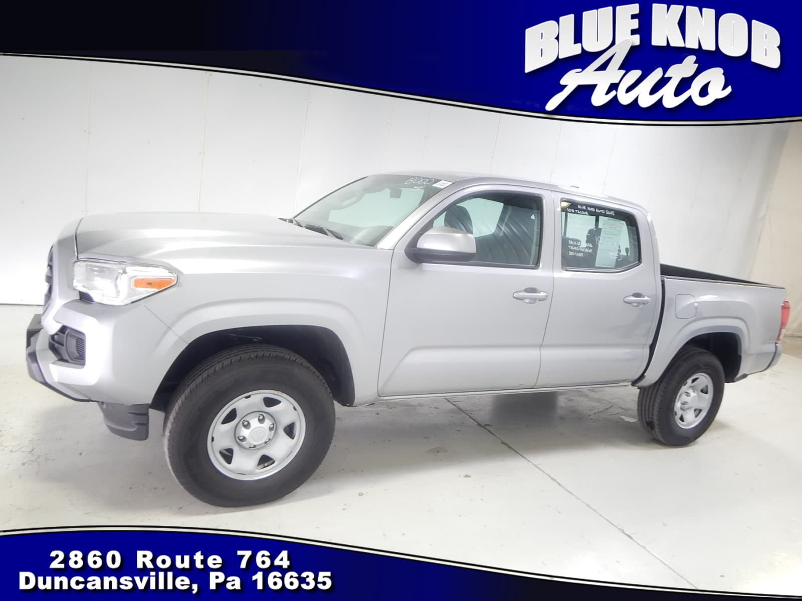Photo 2018 Toyota Tacoma SR V6 Truck Double Cab in Duncansville  Serving Altoona, Ebensburg, Huntingdon, and Hollidaysburg PA