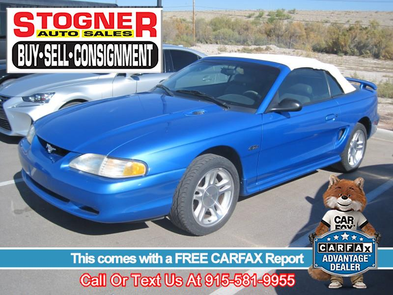 Photo 1998 Ford Mustang GT convertible