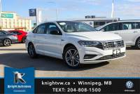 New 2019 Volkswagen Jetta Highline R Line w/ App Connect/Backup Cam/2 Tone Seat FWD 4dr Car