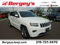 Certified Used 2014 Jeep Grand Cherokee 4WD Overland V8 w/ Panoramic Sunroof & NAV in Souderton