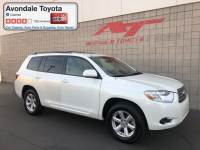 Pre-Owned 2008 Toyota Highlander SUV Front-wheel Drive in Avondale, AZ