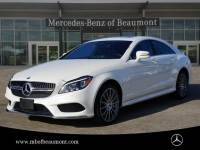 Certified Pre-Owned 2016 Mercedes-Benz CLS 550 Rear Wheel Drive Coupe
