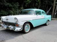 1956 Chevrolet 150 -TRI FIVE GM CRATE 350 HEADERS ORIGINAL SHEETMETAL AC PS PB