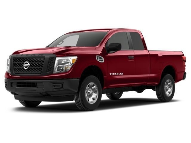 Photo Used 2017 Nissan Titan XD XD SV 4X4 W HEAVY DUTY SUSPENSION AND TOW CAPACIT QC