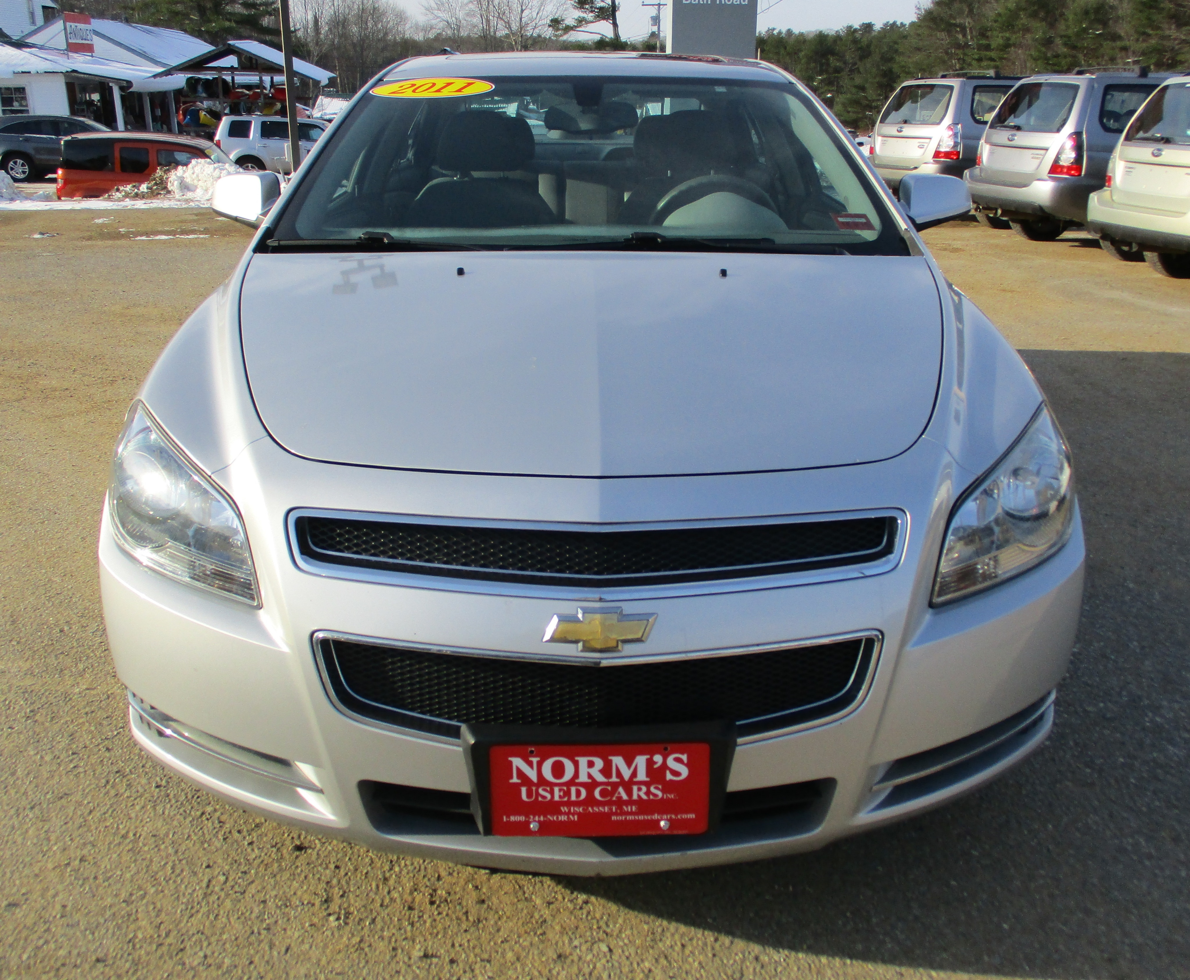 Photo Used 2011 Chevrolet Malibu For Sale  Wiscasset ME