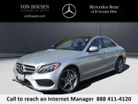 Certified Pre-Owned 2016 Mercedes-Benz C 300 Sport AWD 4MATIC®