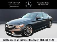 Certified Pre-Owned 2016 Mercedes-Benz C 300 Sport RWD 4dr Car