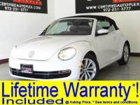 2013 Volkswagen Beetle Convertible CONVERTIBLE TDI NAVIGATION HEATED LEATHER SEATS BLUETOOTH KEYLESS GO FENDER