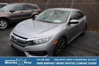 Certified Pre-Owned 2017 Honda Civic Sedan LX FWD 4dr Car