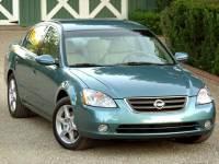 Pre-Owned 2002 Nissan Altima FWD 4D Sedan
