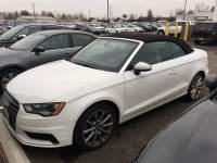 Certified Pre-Owned 2016 Audi A3 2.0T Premium Cabriolet For Sale in Columbus near Dublin