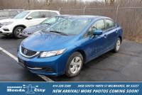 Certified Pre-Owned 2014 Honda Civic Sedan LX FWD 4dr Car