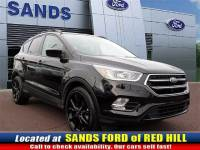 Certified Pre-Owned 2017 Ford Escape SE SUV EcoBoost I4 GTDi DOHC Turbocharged VCT for Sale in Red Hill near Quakertown
