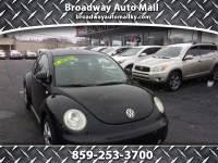 2000 Volkswagen New Beetle GLS 2.0