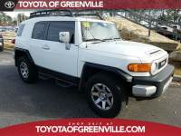 Pre-Owned 2014 Toyota FJ Cruiser AT 4WD V6 SUV in Greenville SC