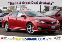 Used 2012 Toyota Camry SE Available in Sacramento CA
