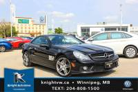 Pre-Owned 2009 Mercedes-Benz SL-Class 63 w/ RoadSter/V8/Cooled Seats/AMG Pkg RWD Convertible