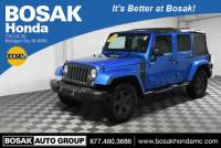 Pre-Owned 2016 Jeep Wrangler Unlimited Willys Wheeler 4WD 4D Sport Utility
