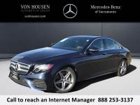Certified Pre-Owned 2017 Mercedes-Benz E 300 Sport RWD 4dr Car