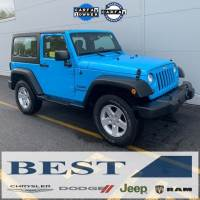 CERTIFIED PRE-OWNED 2017 JEEP WRANGLER SPORT 4WD