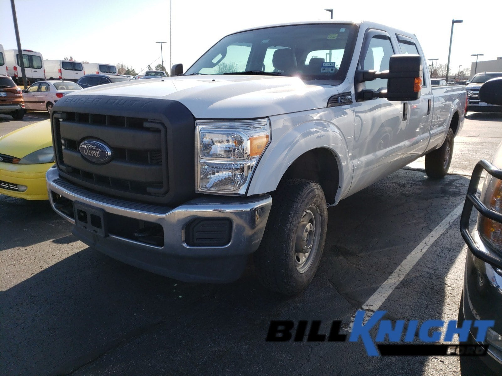 Photo Certified Used 2015 Ford F-250 XL Truck Crew Cab EFI V-8 ENGINE 4WD in Tulsa