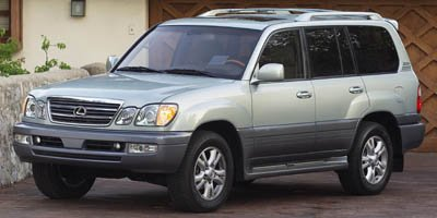 Photo Pre-Owned 2005 Lexus LX 470 With Navigation  4WD