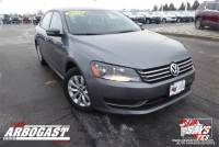 Pre-Owned 2014 Volkswagen Passat 1.8T Wolfsburg Edition FWD 4D Sedan