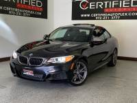 2015 BMW 2 Series M235i COUPE SUNROOF POWER LEATHER SEATS KEYLESS GO REAR A/C HEATED POWER FO