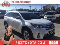 2018 Toyota Highlander Limited SUV Front-wheel Drive