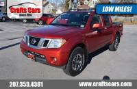 2015 Nissan Frontier PRO 4-X - Leather - Sunroof - NAV Truck Crew Cab