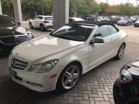Pre-Owned 2012 Mercedes-Benz E 350 Rear Wheel Drive Convertible