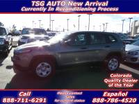 2016 Jeep Cherokee 4dr Sport 4WD