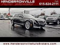 2017 Cadillac CT6 3.0L Luxury Twin Turbo AWD