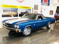 1970 Chevrolet El Camino -350CI V8-PS/PB-A/C-DALLAS CAR-RALLY-MUSCLE CAR-PICK UP-VIDEO