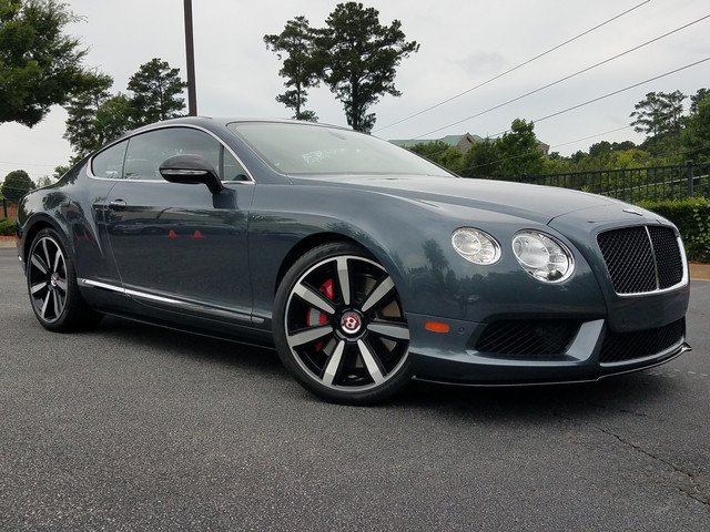 Photo Pre-Owned 2015 Bentley Continental GT V8 S Coupe in Atlanta GA