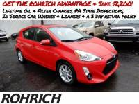 2015 Toyota Prius c Four Hatchback Front-wheel Drive