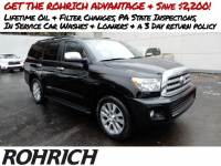 2016 Toyota Sequoia Limited SUV 4x4