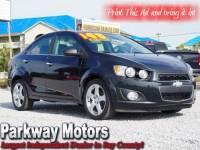 2013 Chevrolet Sonic LTZ Auto Sedan