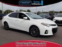 Certified 2016 Toyota Corolla S Plus Sedan near Tampa FL