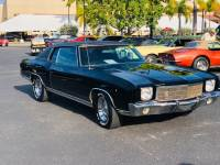1970 Chevrolet Monte Carlo -FACTORY CODE 19 BLACK PS PB AC FROM FLORIDA